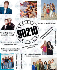 Beverly Hills: 90120 Fan Sheet Digital Download