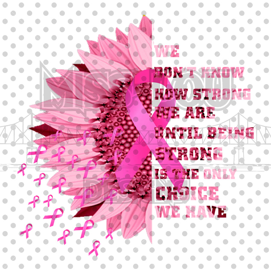 Breast Cancer Strong Digital Download