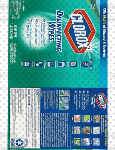 Clorox Green Wipes Waterslide