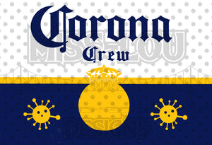 Corona Crew WrapFan Sheet  Waterslide