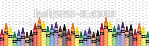 Crayon Boarder Digital Download