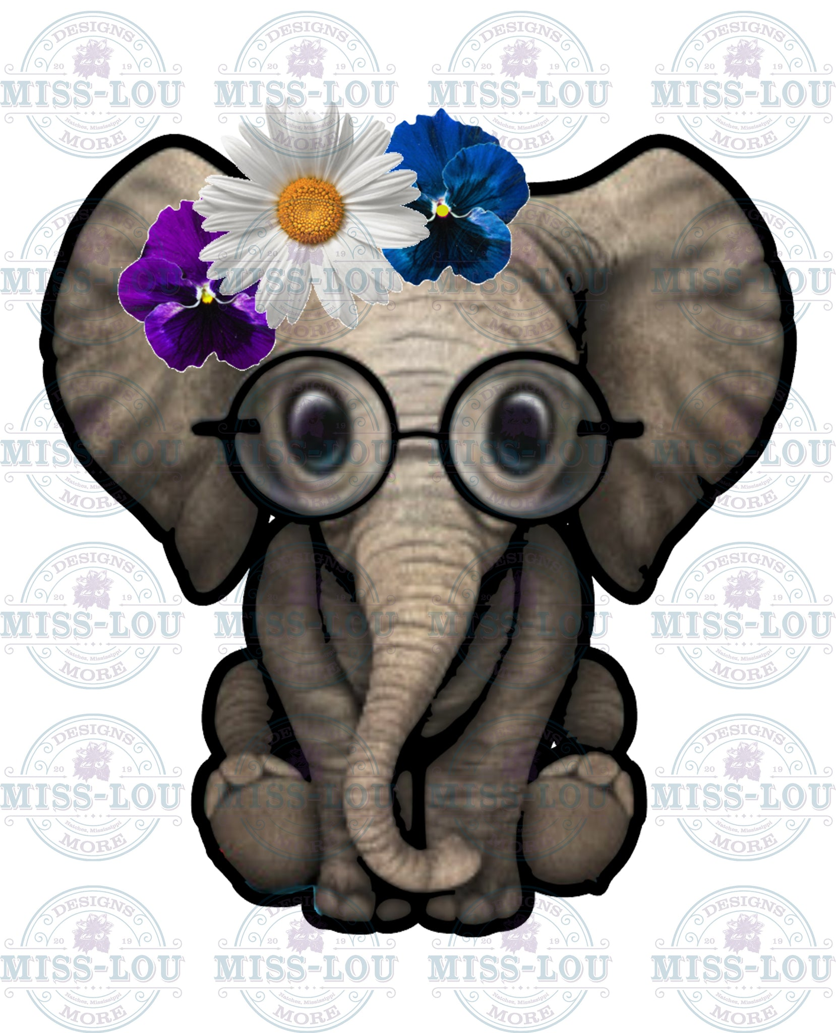 Daisy Elephant Waterslide