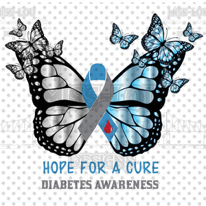 Diabetes Awareness Digital Download