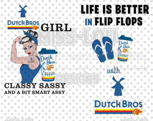 Dutch Brothers Girls Digital Download