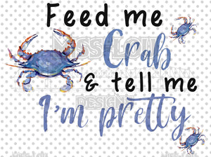 Feed me Crab Digital Download