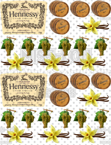 Hennessy Half Sheet Exclusive Waterslide