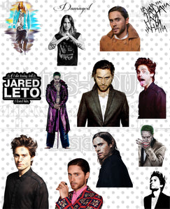 Jared Leto Fan Sheet Waterslide