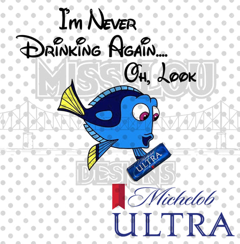 Never Drinking Again Michelob Ultra Digital Download
