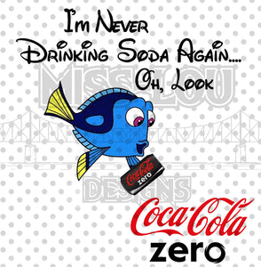 Never Drinking Soda Again Coke Zero Waterslide