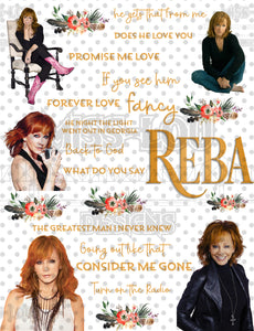 Reba Fan Sheet Waterslide