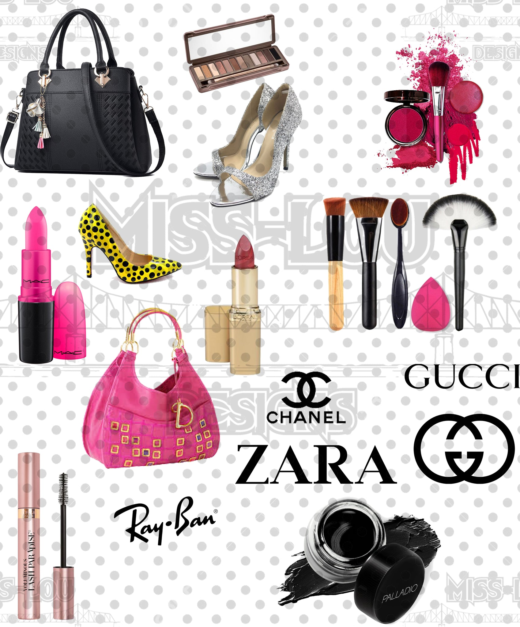 Retail Shopper Full Sheet Digital Download