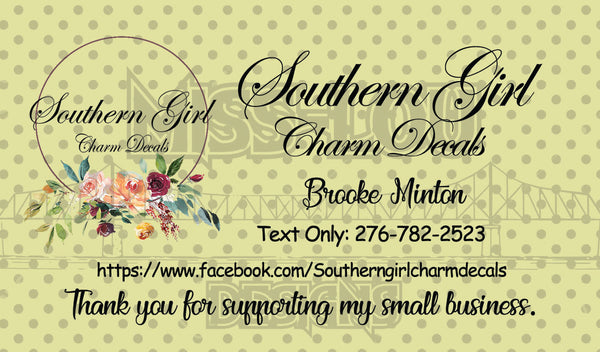 Brooke Minton Logo/Business Cards Custom