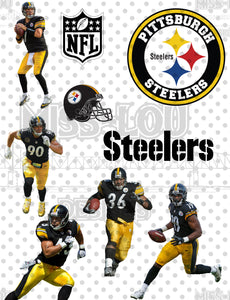 Steelers Fan Sheet Digital Download