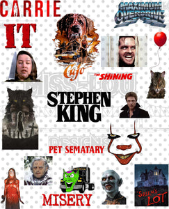 Steven King Fan Sheet Digital Download