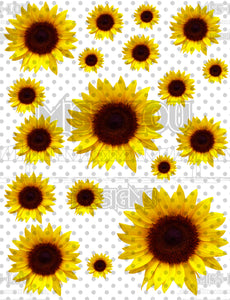 Sunflower Sheet Digital Download