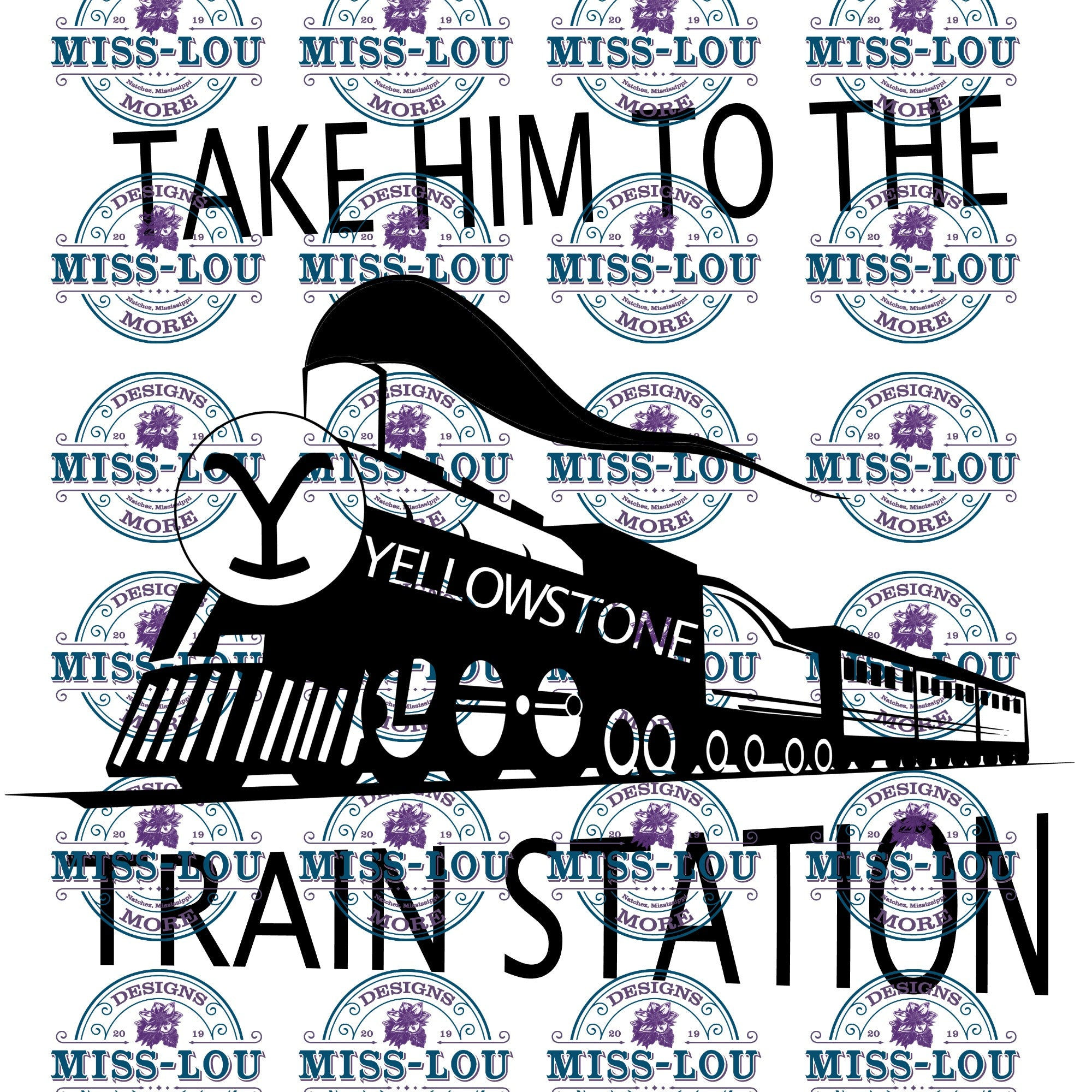 Take him to the Train Station Waterslide
