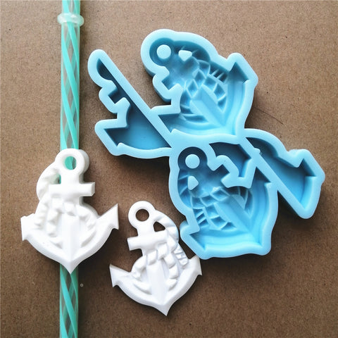 Anchor Straw Topper mold