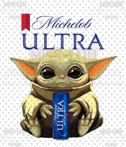Baby Yoda Michelob Ultra Digital Download