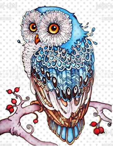 Blue Owl Digital Download