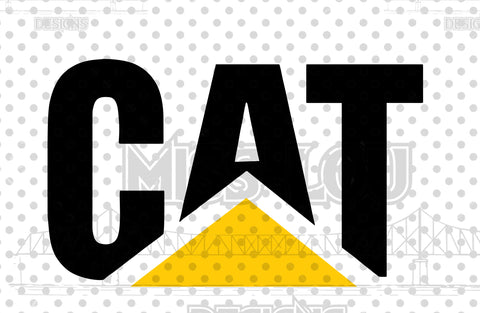 Copy of CAT Machinery logo CAT Machinery logo v2 Digital Download