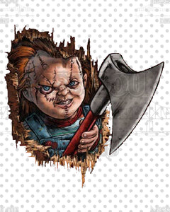 Chucky Face Waterslide