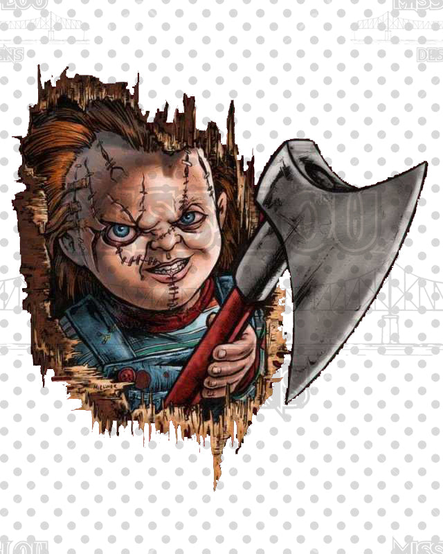 Chucky Face Digital Download
