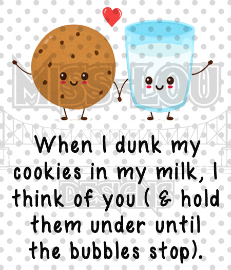 Dunk my Cookie Digital Download