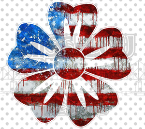 Flag Flower Digital Download