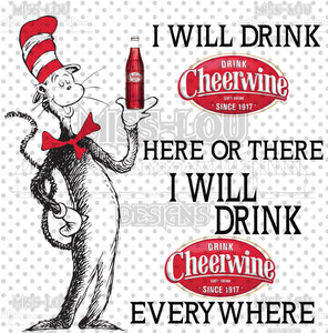 Cat In The Hat Cheerwine Waterslide