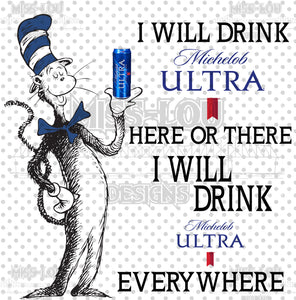 Cat In The Hat Michelob Ultra Waterslide