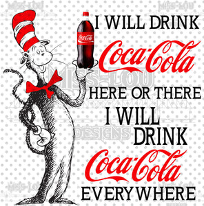 Cat In The Hat Coke Digital Download