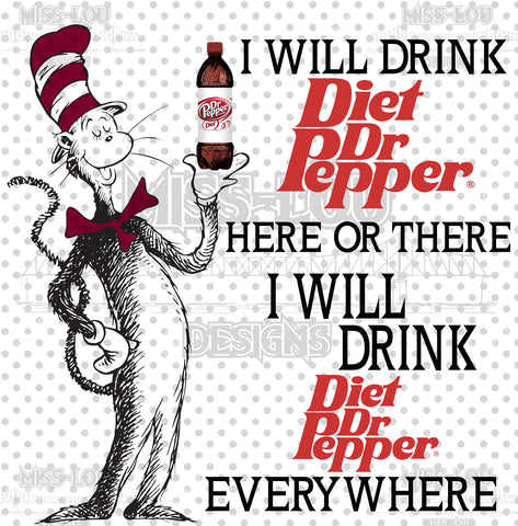 Cat In The Hat Diet Dr. Pepper Waterslide