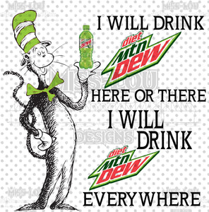 Cat In The Hat Diet Mt. Dew Digital Download
