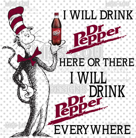 Cat In The Hat Dr. Pepper Waterslide