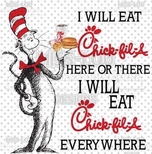 Cat In The Hat Chick Fil-A Digital Download