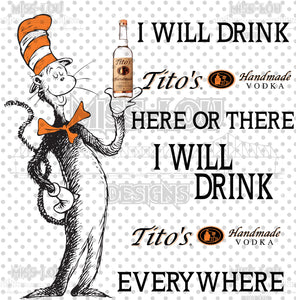 Cat In The Hat Tito's Digital Download