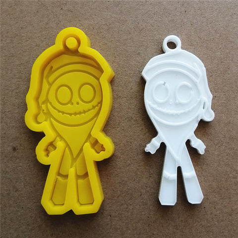 Skeleton Keychain mold