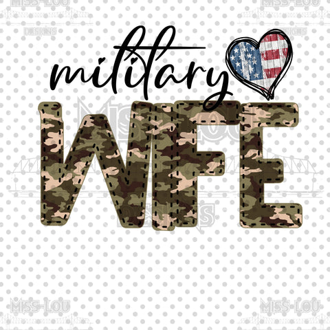 Military Wife Waterslide