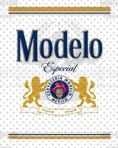 Modelo Beer Label Waterslide