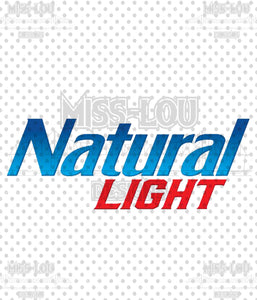 Natural Light Logo Waterslide