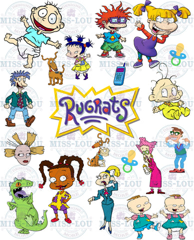 Rugrats Fan Sheet  Waterslide