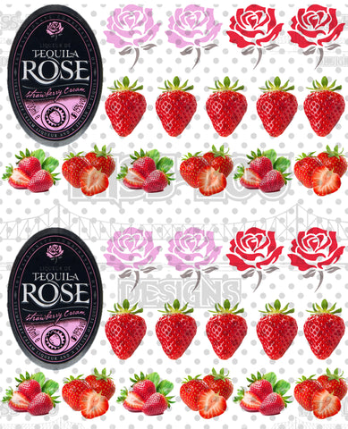 Tequila Rose Half Sheet Exclusive Waterslide