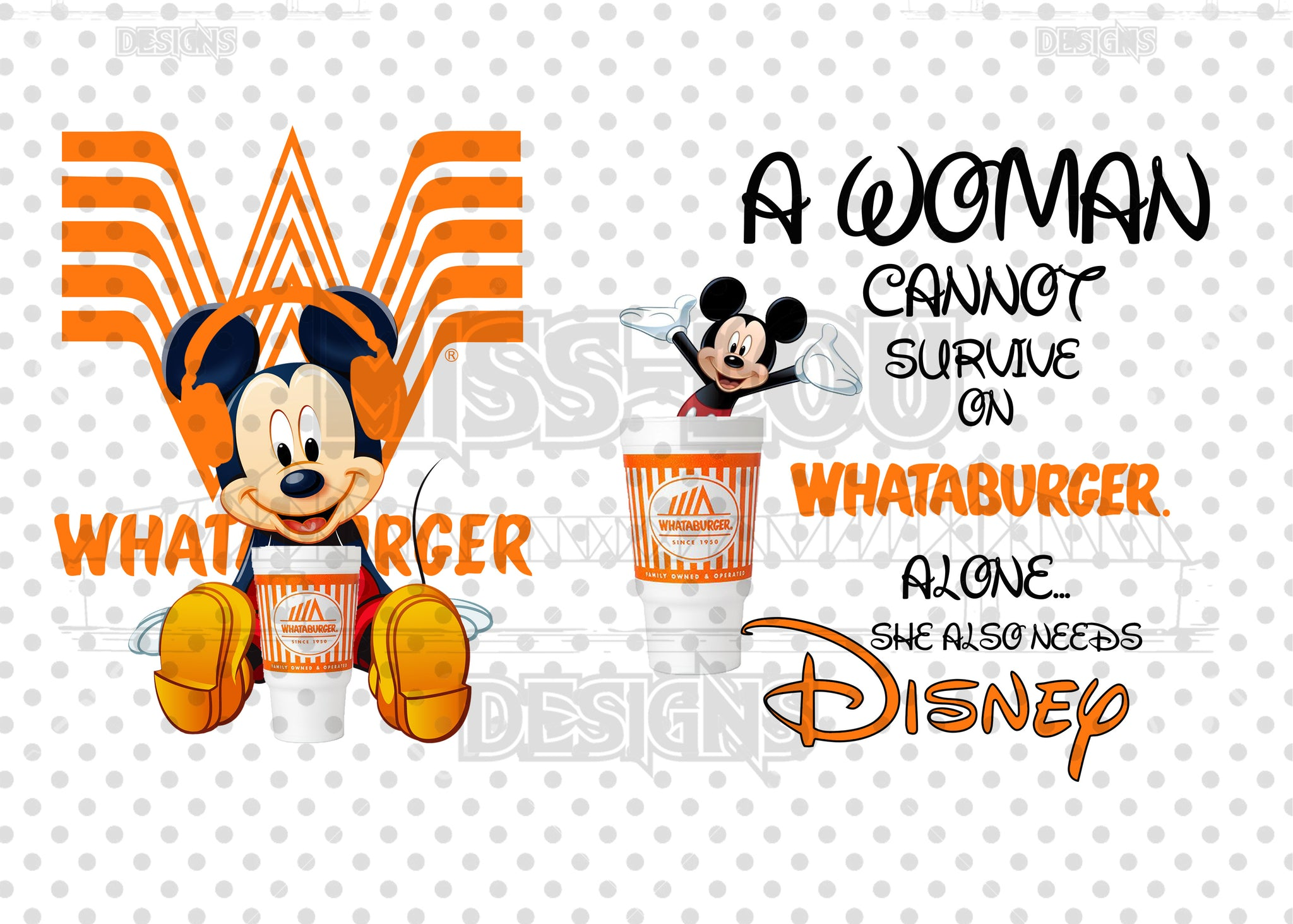 A woman Cannot Survive on Whataburger Alone She Needs 2 Piece Set Exclusive Waterslide