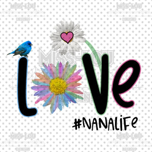Love Nana Life Digital Download