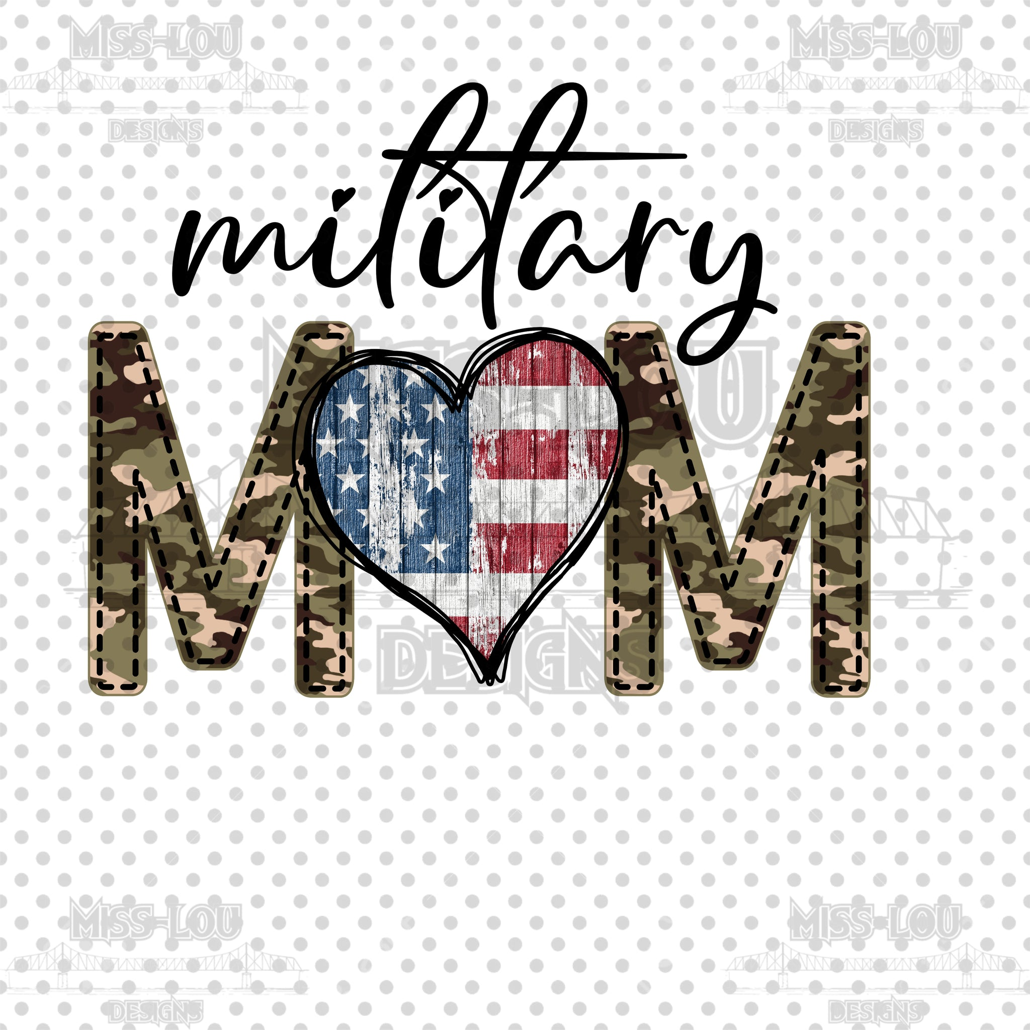 Military Mom Waterslide