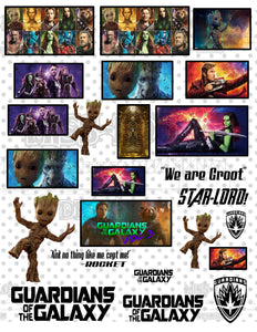 Guardians of the Galaxy Sheet Digital Download
