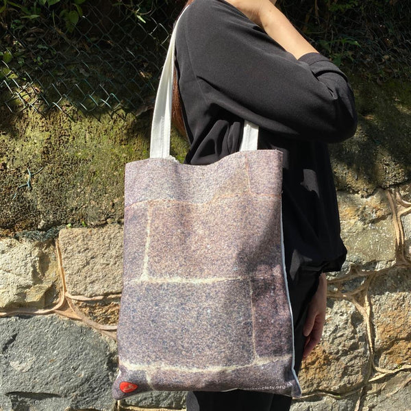 Granite Wall Tote Bag