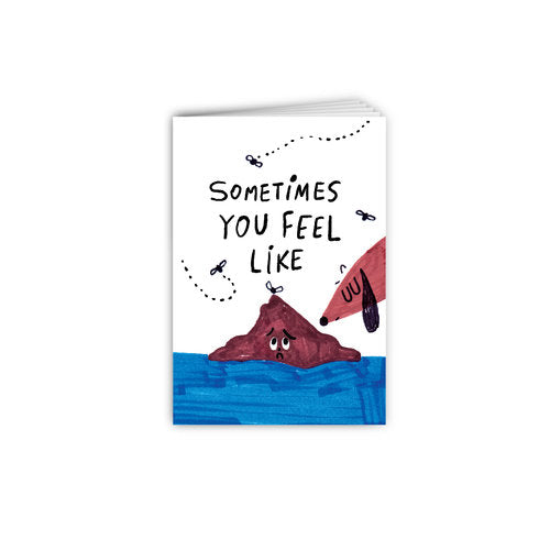 Mini Storybook - Sometimes You Feel Like