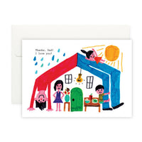 Greeting Card - Dad House Card