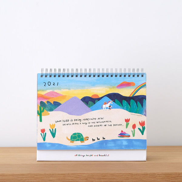 How To Survive A Disaster - The Desk Calendar for 2021